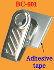 Adhesive Name Badge Clips With Adhesive Backs BC-601/Bag-of-100Pcs