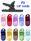 Color Plastic Clips For Badges, Nametags or Baby Pacifiers SC-001/Bag-of-100Pcs