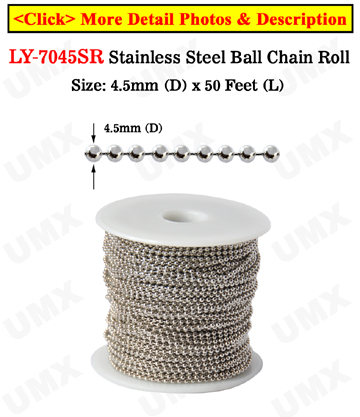 Stainless Ball Chain Spool