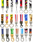 "5/8"" Ez-Adjustable Art Printed Neck Lanyards With Adjustable Length Capability"