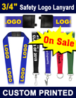 "3/4"" Custom Lanyards With Safety Breakaway Features LY-034-N/Per-Piece"