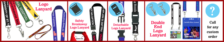 Cheap Custom Lanyards With Silk Screen Custom Imprinted