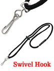 Safety Name Badge Holder Lanyards with Swivel Hooks LY-411-SK-343/Per-Piece