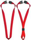 "5/8"" Safety Neck Ring Plain Color Lanyards - Safety Breakaway Neck Straps"