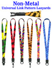 "5/8"" Airport Security Check Free Lanyards For Airport ID Badges LY-P-UL/Per-Piece"