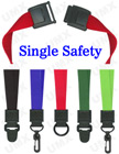 "5/8"" Security Scan Free Safety Lanyards Make Your Security Scan Safe LY-UL-1S/Per-Piece"
