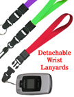 "Detachable Wrist Lanyards: 5/8"" Plain Color Detachable Wrist Straps LY-UL-WS-DB/Per-Piece"