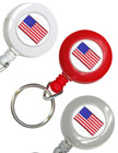 USA Flag Retractable Keychains: Patriotic Key Chains