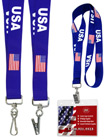 USA Flag Lanyards: Patriotic Lanyard Series