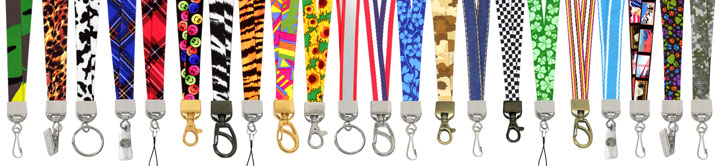 Cool & Stylish Pattern Lanyards With Great Pre-Printed Lanyard Arts
