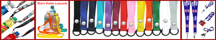 Sports Lanyards: Entertainment Neck Straps For Bottled Water, Drinks, Wine