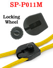 Medium Size Drawstring Locks: Plastic Wheel Cord Locks: Laundry Bag String Closures