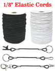 "Thick Elastic Cords: By The Spool (Roll) / 300 ft - 1/8"" (D)"