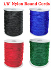 "Nylon Cords: By The Spool (Roll) / 300 ft - 1/8"" (D) CD-030/Per-Spool-300Ft"