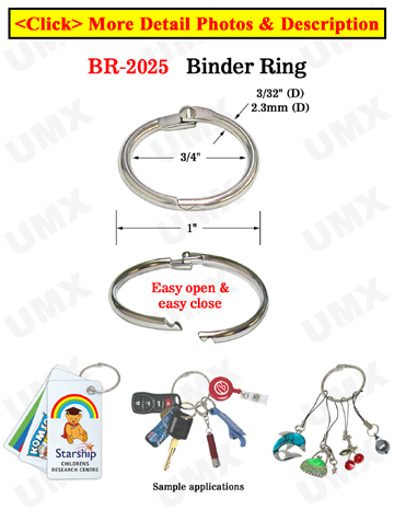 Binder Rings: Wholesale & Retail with No Minimum Order Required