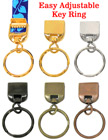 Easy Lanyard Keychain Key Ring Connector Hardware Attachments