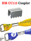 Cord Fasteners: Metal Clamps: Fasten Craft Cords or Lanyard Straps HM-CC115/Per-Piece
