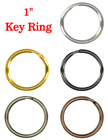 "Metal Key Rings: 1"" Steel Round Split-Keyrings RK-01-25/Per-Piece"