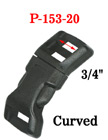 "3/4"" Curved Side Release Plastic Buckles: For Safety Vest or Clothing P-153-20/Per-Piece"