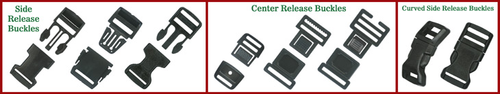Plastic Buckles:  Wholesale Heavy Duty & Low Cost Buckles
