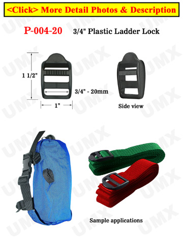 "3/4"" Easy Strapping Plastic Ladder Buckle Fasteners"