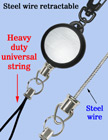 Heavy Duty Cable Wire Retractable Reels With Heavy Duty Universal Fasteners RT-03S-CP-B/Per-Piece