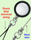 Heavy Duty Steel Cable Wire Retractable Reels Heavy Duty Universal Fastener Strings RT-23S-CP-B/Per-Piece