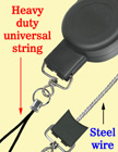 Heavy Duty Retractable Reels: For PDA, GPS, Handheld Scanners, Meters RT-33S-CP-B/Per-Piece
