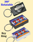 Lucky Retractable Keychains with Pre-Printed Lucky Number 777 RT-51-777-O/Per-Piece