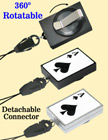 Preprinted Retractable Universal Fasteners: Poker ACE Print RT-51-ACE-CP2/Per-Piece