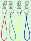 Universal Cell Phone Accessory Strings With Lobster Claw Hooks CP-001-LB/Bag-of-5Pcs