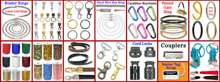 Lanyard Making Hardware Accessory and Tool Supply
